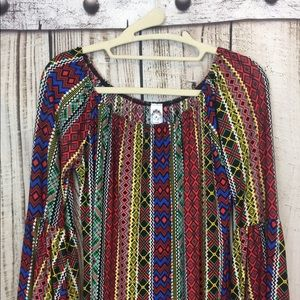 2 B Together Dresses - 2 B Together BOHO Style Off Shoulder Dress Small